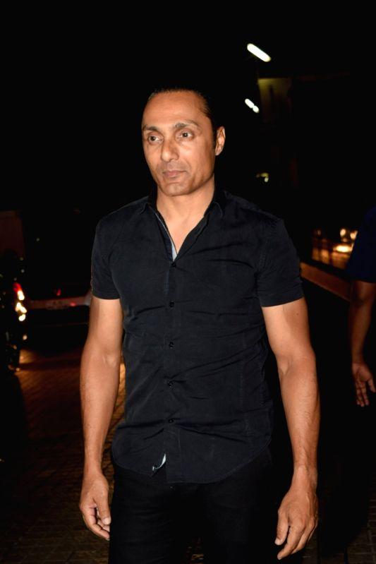 "Mumbai: Actor Rahul Bose at the screening of the upcoming film ""The Sky Is Pink"" in Mumbai on Oct 9, 2019."