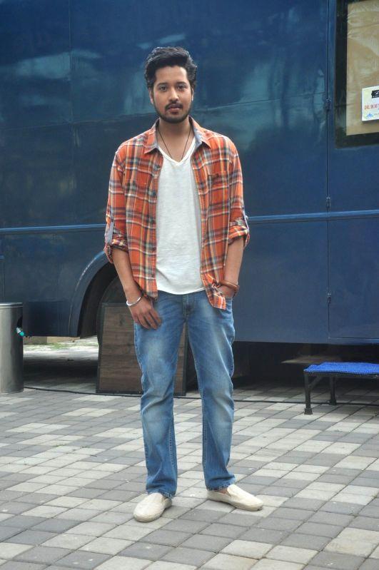 Actor Rajat Barmecha during a media interaction of film Waarrior Savitri in Mumbai on March 24, 2015. - Rajat Barmecha