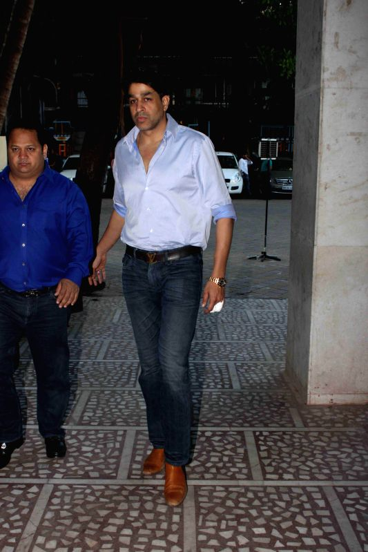 Actor Rajat Bedi during the condolence meeting of Amit Mehra, son of filmmaker Prakash Mehra, in Mumbai on March 3, 2015. - Rajat Bedi
