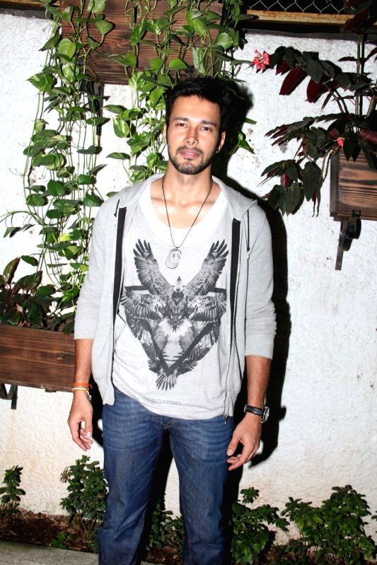 Actor Rajneesh Duggal during the special screening of film Ek Paheli Leela in Mumbai on April 9, 2015. - Rajneesh Duggal