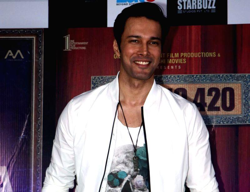 Mumbai:  Actor Rajniesh Duggall at the annoucement of 3 films- Khalli Balli, Bhutiyapa and Flat No 420, in Mumbai, on May 15, 2019.