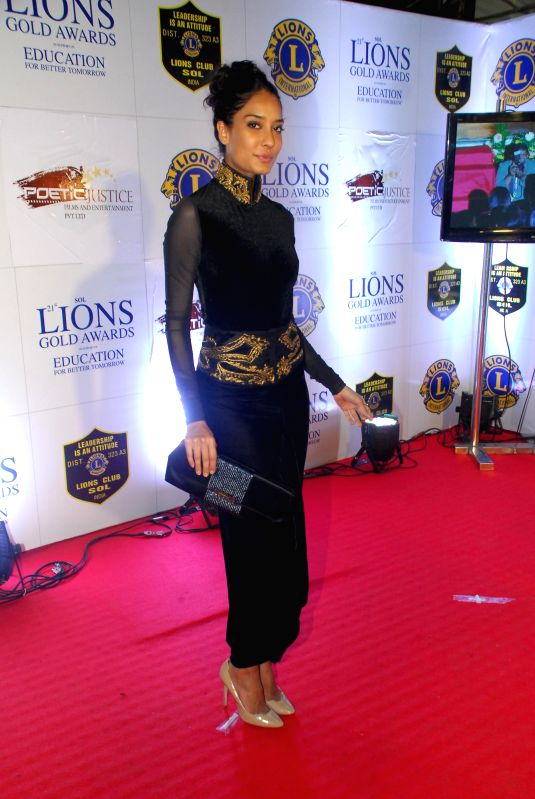 Actor Randeep Hooda during the Lions Gold Awards 2015 in Mumbai on Jan 6, 2015. - Randeep Hooda