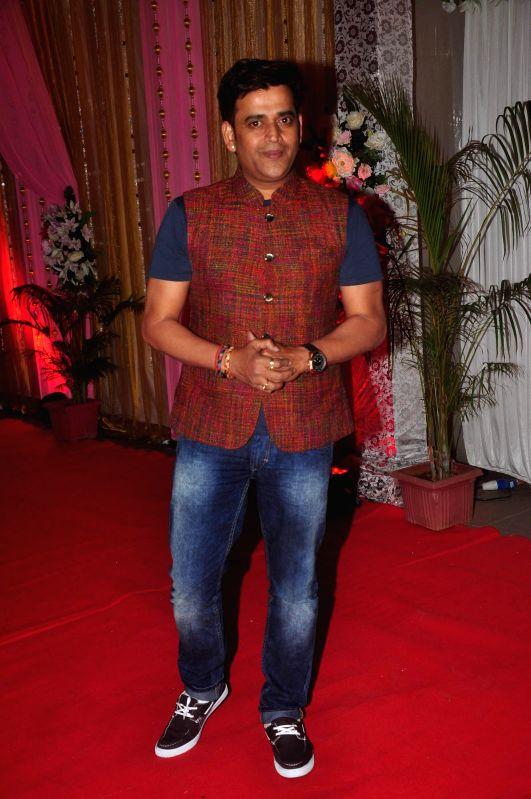 Actor Ravi Kisan during the success bash of film Hey Bro music in Mumbai on Feb 22, 2015. - Ravi Kisan