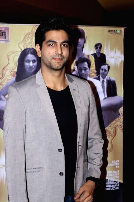 :Mumbai: Actor Sahil Phull during the screening of short film Shor Se Shuruaat in Mumbai on Dec 14, 2016. (Photo: IANS).