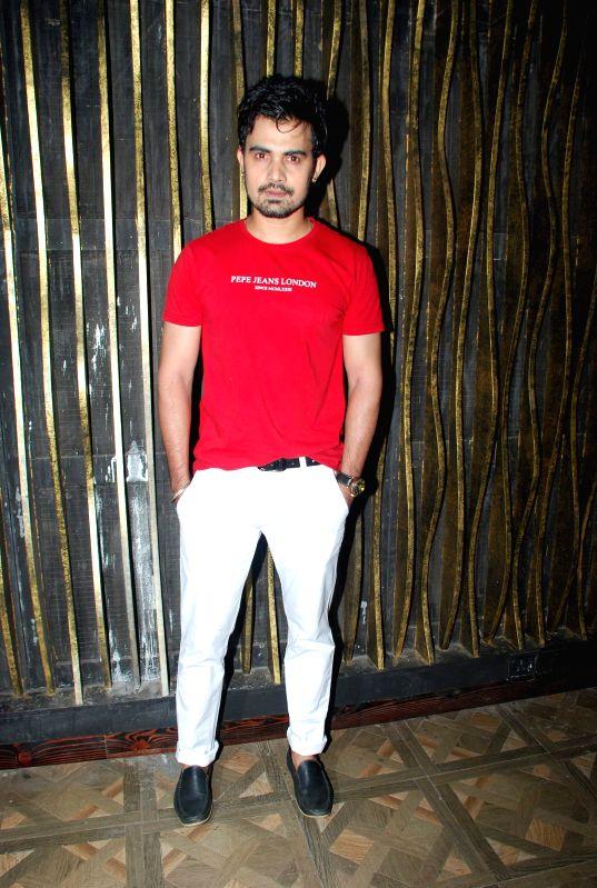 Actor Sahim Khan during the music launch of film Tere Ishq Mein Kurban in Mumbai, on Jan. 12, 2015. - Sahim Khan