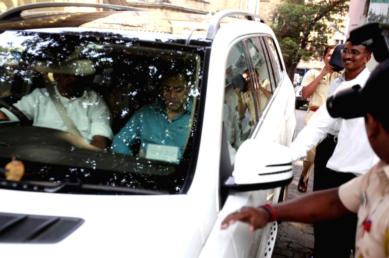 Actor Salman Khan arrives to appear before a Mumbai Court in connection with the infamous 2002 hit and run case in Mumbai, on Dec 3, 2014.