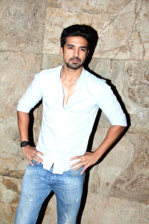 Actor Saqib Saleem during the screening of film Tanu Weds Manu Returns in Mumbai 20th May 2015 - Saqib Saleem