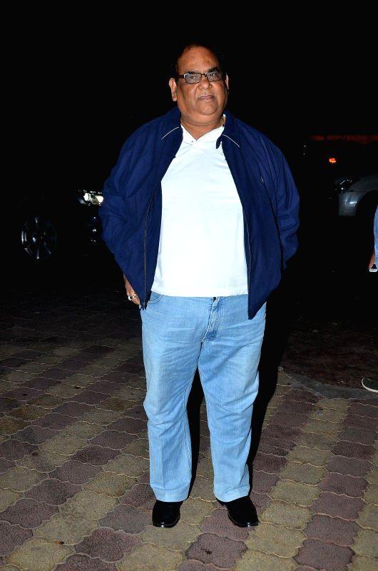 Actor Satish Kaushik during the Bharat Gaurav Achievement Award 2015 in Mumbai on Jan 24, 2015. - Satish Kaushik