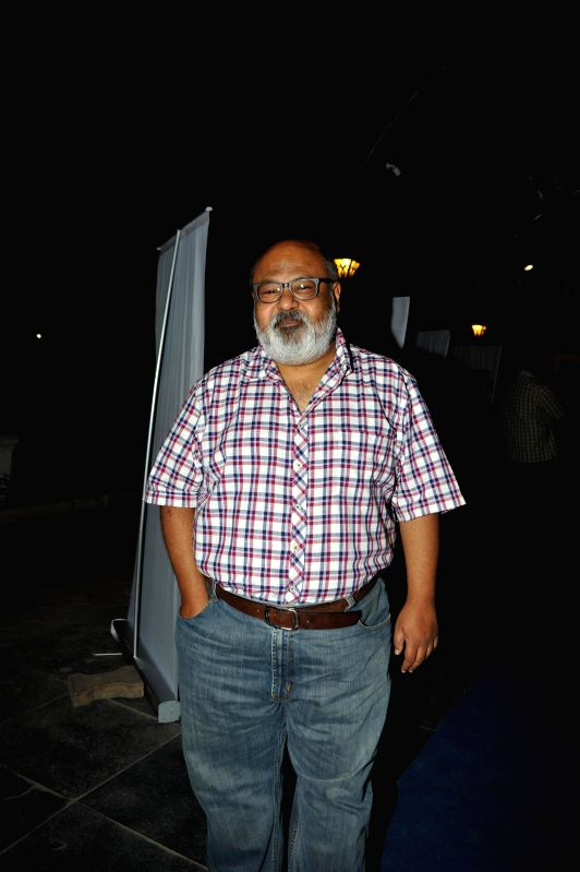 Actor Saurabh Shukla during the opening night of CinePlay Festival Act in Mumbai on Feb 27, 2015. - Saurabh Shukla