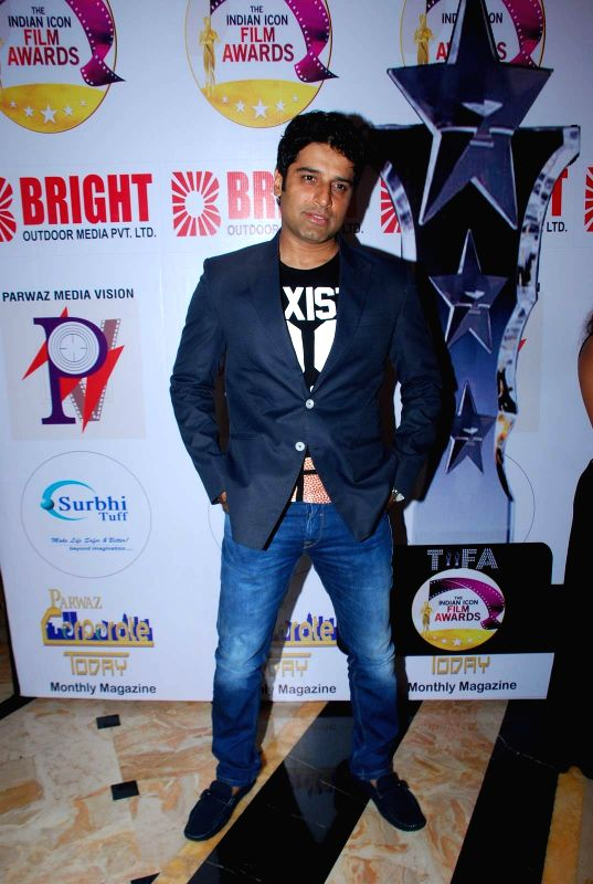 Actor Shakti Anand during the Announcement of annual award show TIIFA in Mumbai on April 18, 2015. - Shakti Anand