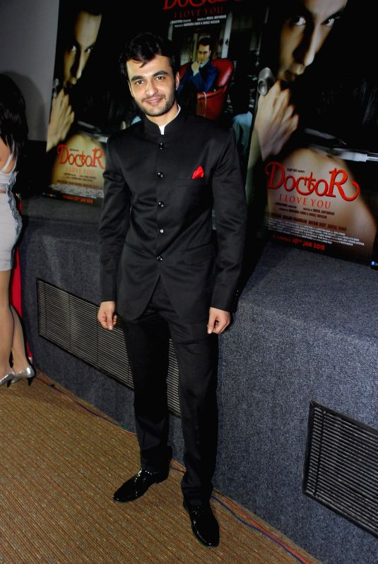 Actor Shiraz Husaain during the music launch of film Doctor I love You in Mumbai, on 5th Jan 2015 - Shiraz Husaain