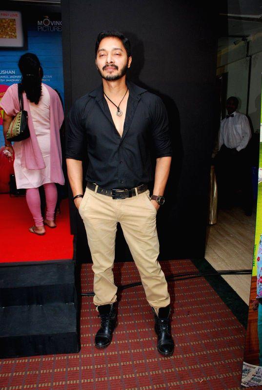 Actor Shreyas Talpade at Sata Lota music launch in Mumbai on 7th Jan 2015