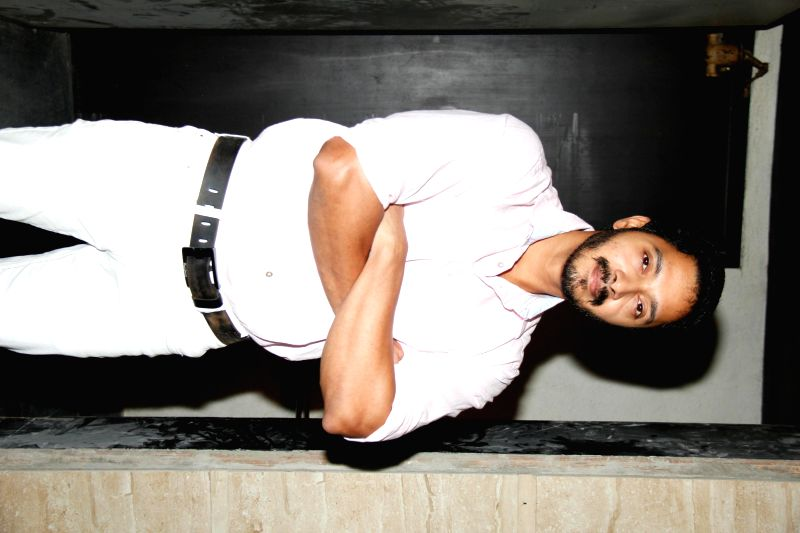 Actor Shreyas Talpade during Pause Wine tasting event in Mumbai on Dec. 12, 2014.