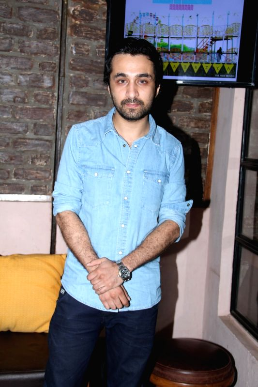 Actor Siddhanth Kapoor during Bombariya Film Announcement launch party in Mumbai on April 21, 2015. - Siddhanth Kapoor