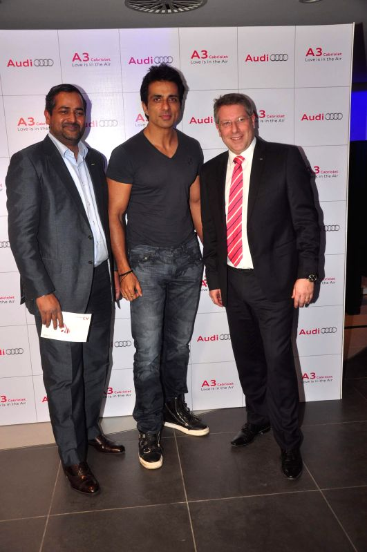 Actor Sonu Sood during launch of Audi A 3, in Mumbai, on Dec. 20, 2014. - Sonu Sood