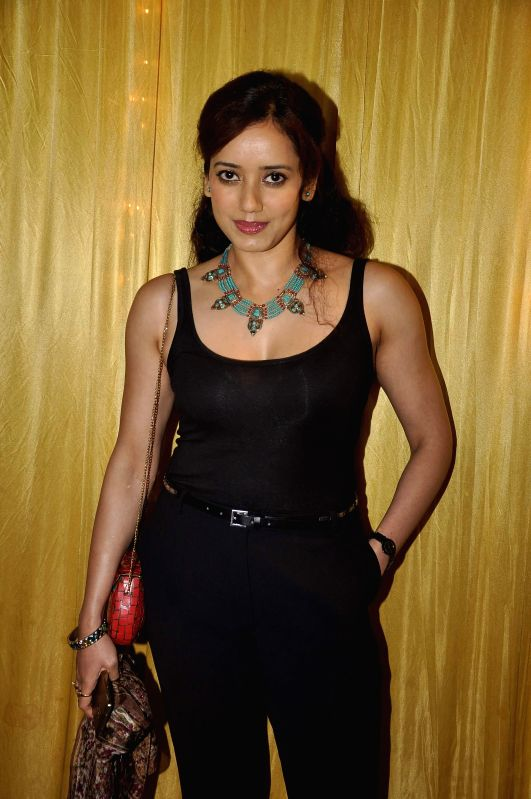 Actor Sriya Narayanan during the Hum Log Awards 2015 in Mumbai on Feb. 16, 2015. - Sriya Narayanan