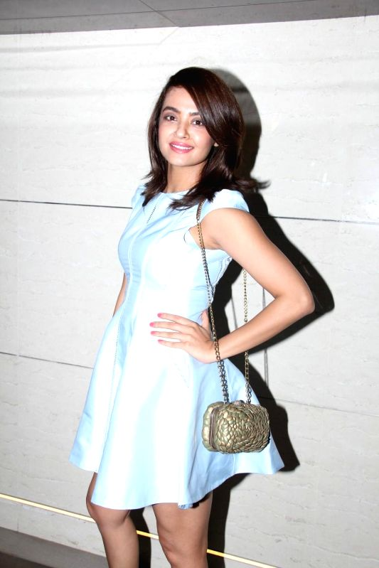 Actor Surveen Chawla during the launch of Harry`s Bar in Mumbai, on March 19, 2015. - Surveen Chawla