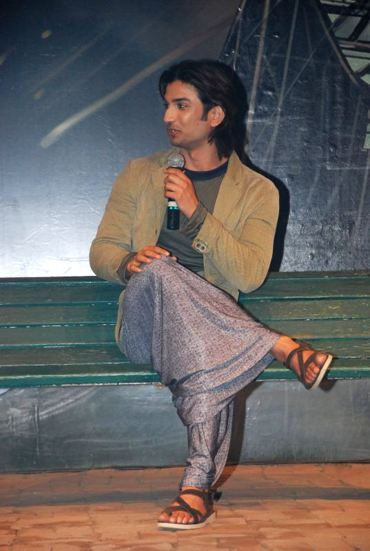 Actor Sushant Singh Rajput during the trailer launch of film Detective Byomkesh Bakshy in Mumbai on Jan 21, 2015. - Sushant Singh Rajput