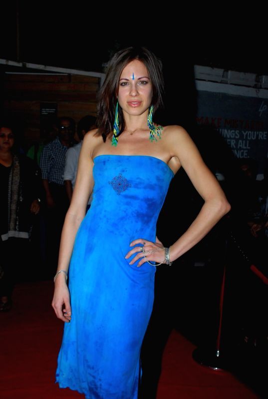 Actor Talia Benson during the music launch of film Sharafat Gayi Tel Lene in Mumbai on Thursday, Dec 11, 2014. - Talia Benson