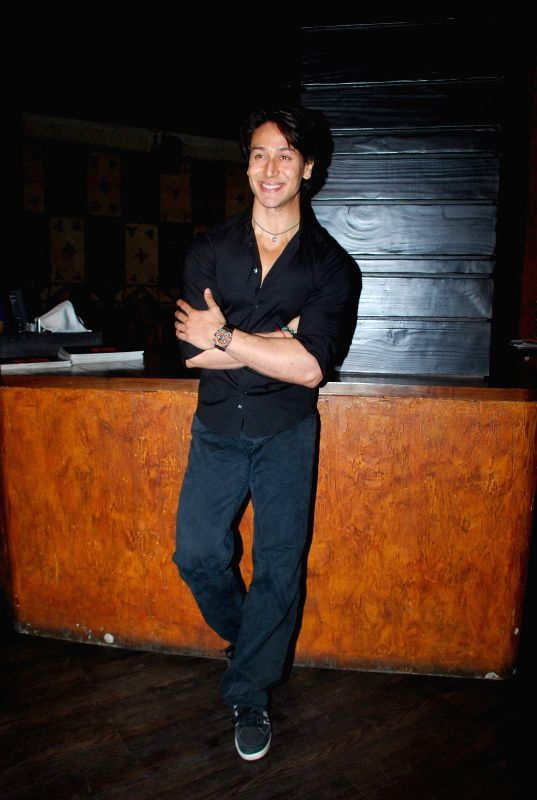 Actor Tiger Shroff during the grand finale of second edition of India Dance Week in Mumbai on April 26, 2015. - Tiger Shroff