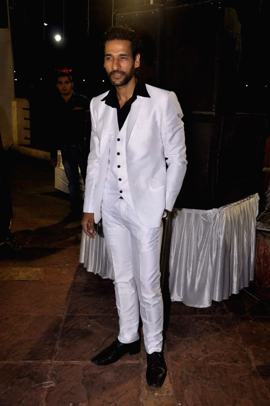 Actor Umesh Pherwani during the Hum Log Awards 2015 in Mumbai on Feb. 16, 2015. - Umesh Pherwani