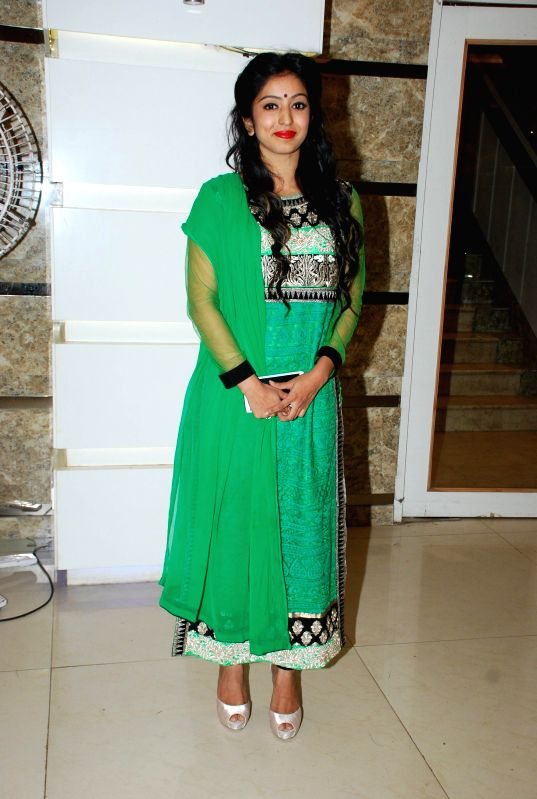 Actor Vaibhavi Joshi during the music launch of film Life Mein Twist Hai in Mumbai, on Nov 19, 2014. - Vaibhavi Joshi