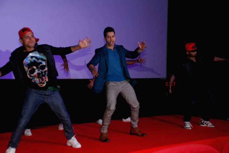 Actor Varun Dhawan during the song launch of Jee Karda from the film Badlapur in Mumbai, on Jan. 08, 2015. - Varun Dhawan