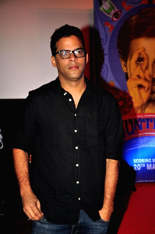 Actor Vikramaditya Motwane during the trailer launch of upcoming film 'Hunterrr'in Mumbai, on Jan. 15, 2015. - Vikramaditya Motwane