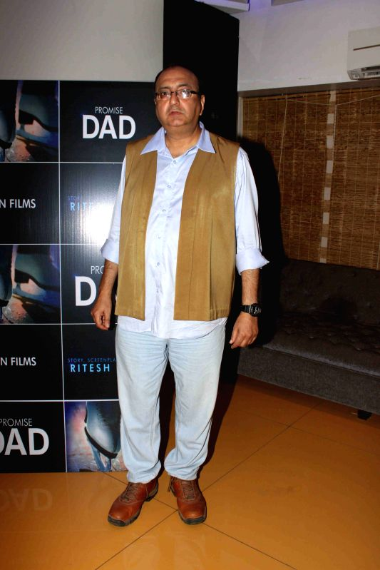 Actor Vivek Vaswani during the trailer launch of international film Promise Dad in Mumbai, on April 23, 2015. - Vivek Vaswani