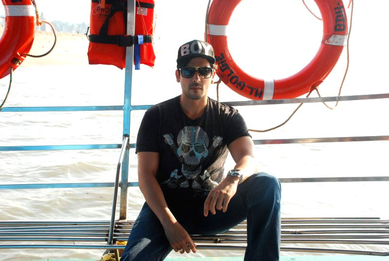 Actor Zayed Khan at Essel World`s silver jubilee celebration in Mumbai, on Dec. 24, 2014.