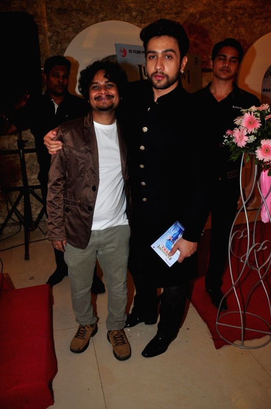 Actors Adhyayan Suman during the first look on film Lucknowi Ishq in Mumbai on 28th January 2015 (Photo: IANS) I - Adhyayan Suman