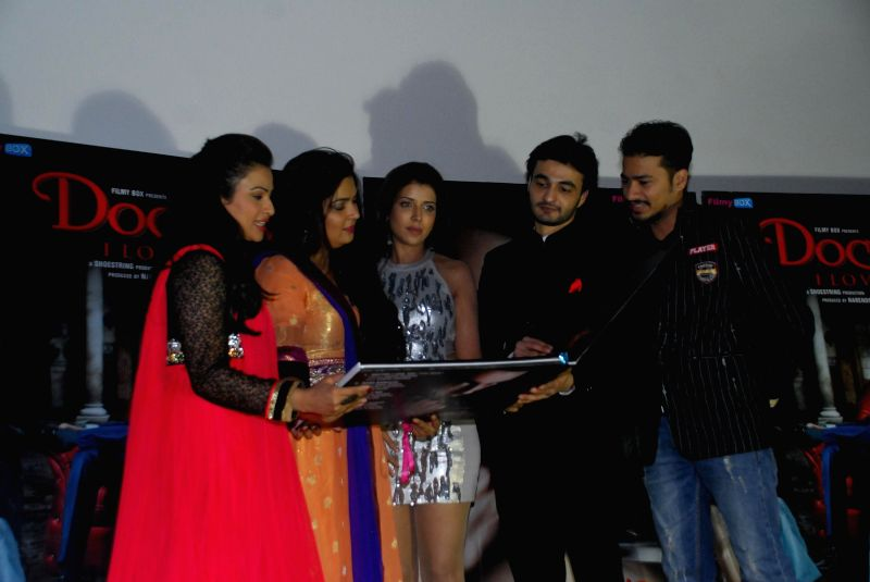 Actors Shalini Chandran, Naini Dixit, Shital Shah and Shiraz Hussain during the music launch of film Doctor I love You in Mumbai, on 5th Jan 2015 - Shalini Chandran, Naini Dixit, Shital Shah and Shiraz Hussain