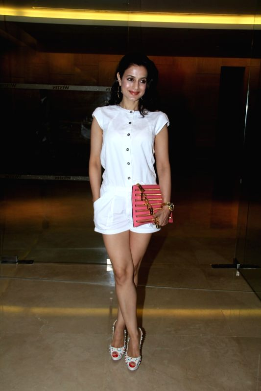 Actress Ameesha Patel during launch of Luxury Comfort Mattress in Mumbai on April 21, 2015. - Ameesha Patel