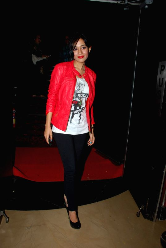 Actress Amrita Rao during the screening of film Sulemani Keeda in Mumbai on Dec 2, 2014. - Amrita Rao