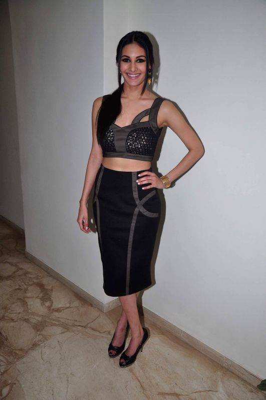 Actress Amyra Dastur at film Mr. X first look launch in Mumbai on March 4, 2015. - Amyra Dastur