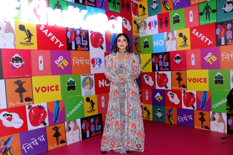 "Mumbai: Actress Bhumi Pednekar at the launch of fictional series ""MTV Nished"" in Mumbai on Jan 16, 2020. (Photo: IANS)"