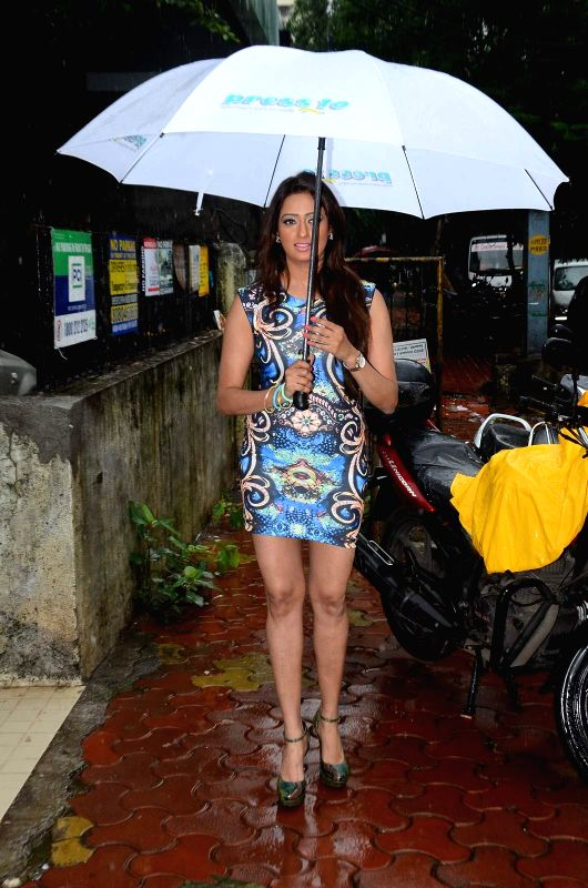 Actress Brinda Parekh during the launch of a first shoes, bag care and leather store in Mumbai on June 20, 2015. - Brinda Parekh