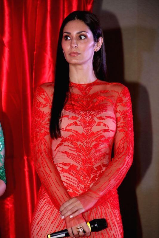 Actress Bruna Abdullah during the launch of film Udanchhoo in Mumbai on March 31 2015. - Bruna Abdullah