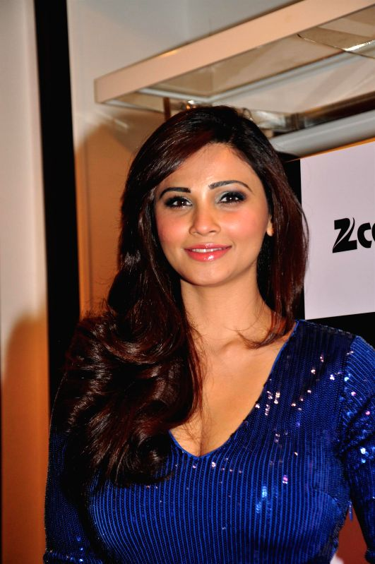Actress Daisy Shah during the BeBe store launch in Mumbai on Dec 2, 2014.