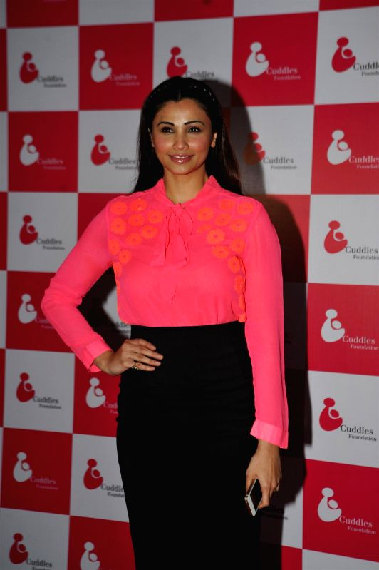 Actress Daisy Shah during the Cuddles Foundation 3rd Annual Charity Fund raiser event in Mumbai on 7th February 2015 - Daisy Shah