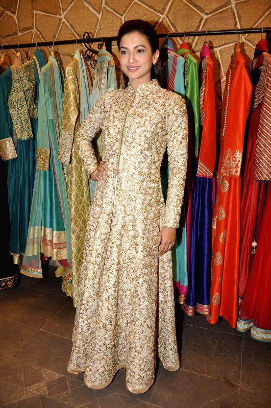 Actress Gauhar Khan.at Hue store the festive collection preview in Mumbai on 20th Jan 2015 - Gauhar Khan