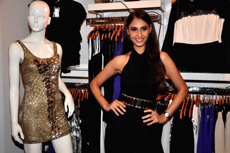 Actress Hasleen Kaur during the BeBe store launch in Mumbai on Dec 2, 2014.