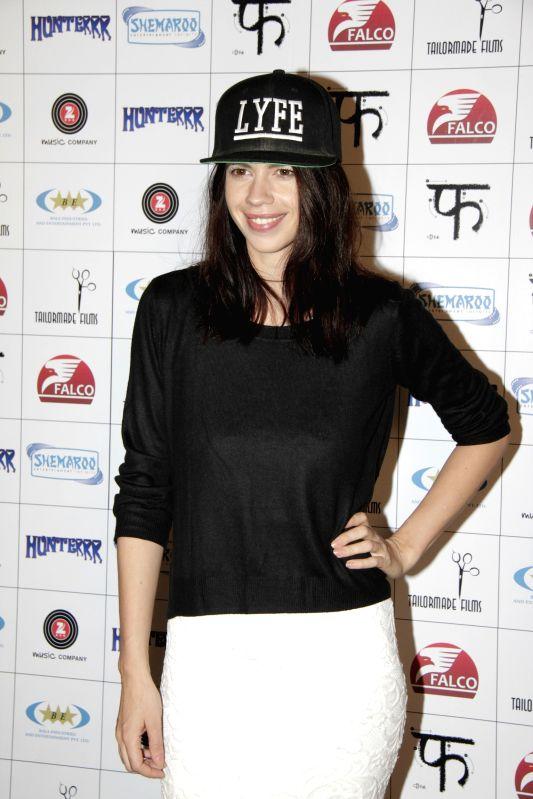 Actress Kalki Koechlin during the success party of film Hunterrr in Mumbai on March 27, 2015. - Kalki Koechlin