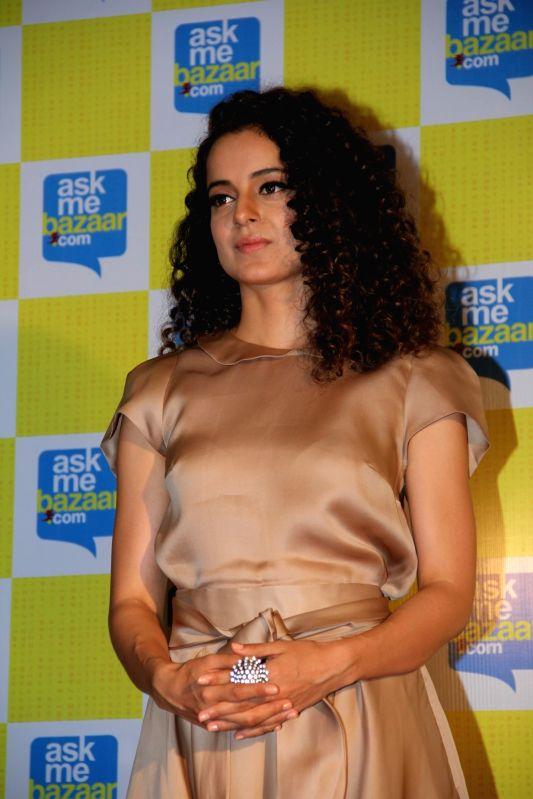 Actress Kangana Ranaut during Meet and Greet Kangana contest organised by askmebazaar.com in Mumbai on April 2, 2015. - Kangana Ranaut