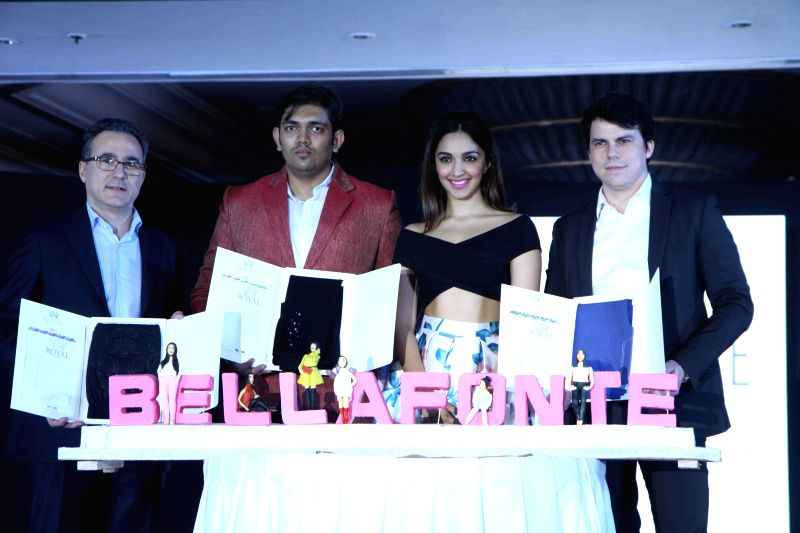 Actress Kiara Advani during the launch of a Italian Brand  in Mumbai, on March 27, 2015 - Kiara Advani