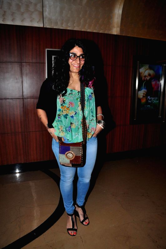 Actress Niharika Khan during the trailer launch of film Margarita, with a Straw in Mumbai on March 4, 2015. - Niharika Khan