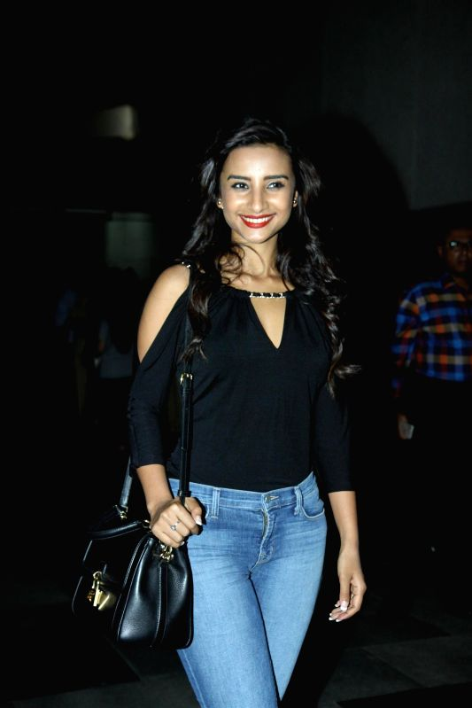 Actress Patralekha during the premier show of the film Fast & Furious  in Mumbai on April 1, 2015. - Patralekha