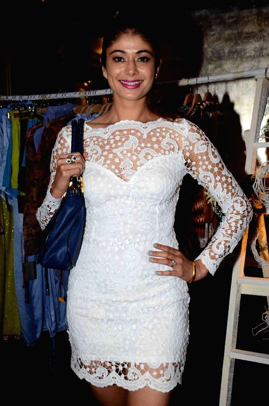 Actress Pooja Batra during the preview of summer/resort 2015 collection by fashion designer Maheka Mirpuri, in Mumbai on April 9, 2015. - Pooja Batra