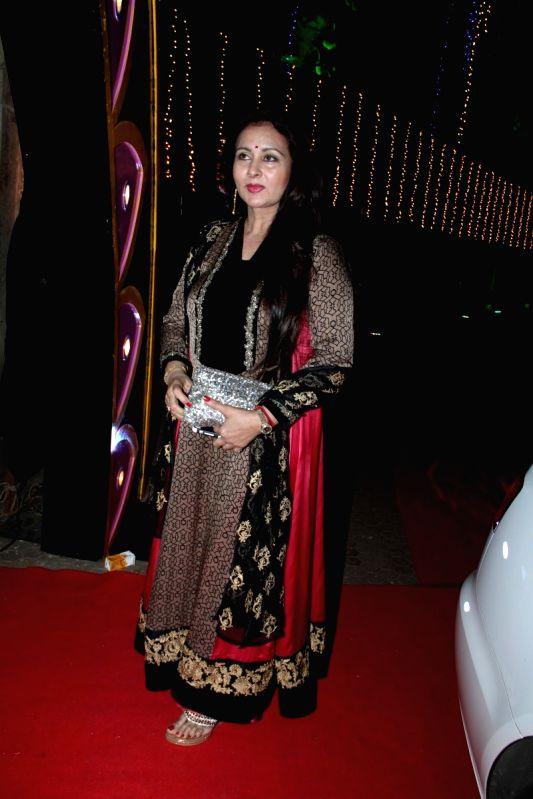 Actress Poonam Dhillon during the Baisakhi celebration in Mumbai on April 14, 2015. - Poonam Dhillon