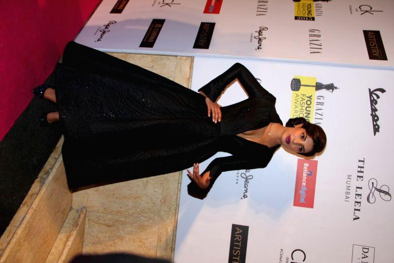 Actress Priyanka Chopra arrives to attend the Grazia Young Fashion Awards 2015, in Mumbai on Wednesday, April 15th, 2015. - Priyanka Chopra